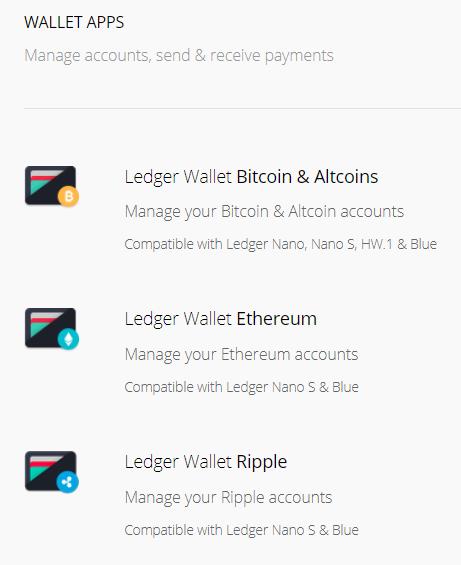 Ledger wallet 6